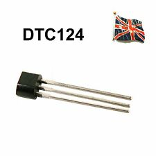 DTC124ES DTC124 NTE2357 ROHM SEMICONDUCTOR TO-92 TO-92S DTC124E UK STOCK