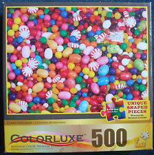 jigsaw puzzle 500 pc Colorluxe hard candy peppermints jelly beans