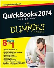 QuickBooks 2014 All-in-One For Dummies, Nelson, Stephen L., Good Book