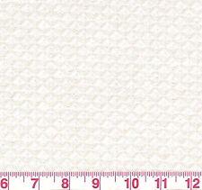 Robert Allen Ascot Matelasse Natural Diamond Woven Upholstery Fabric BTY