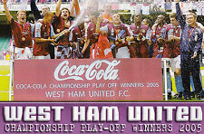 WEST HAM UNITED FOOTBALL TEAM PHOTO 2004-05 SEASON