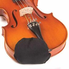Chin Cozy Small Black Chinrest Pad: 1/4 Violins