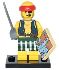 Lego Scallywag Pirate, Series 16 Collectible Minifigure Set 71013 NEW