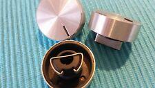 Set mit 10 Aluknöpfen (Knopf)  6mm Achse (halbiert) Drehknopf für Poti/Potenziom