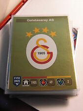 Galatasaray AS FIFA 365 Panini Sticker761 Soccer / Futbol Cards