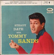 "TOMMY SANDS ""STEADY DATE WITH"" ROCK & ROLL EP 1957 CAPITOL 1-848"