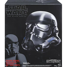 STAR WARS Rogue One Voice Changer Shadow Trooper Stormtrooper Helmet NEW uk