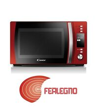 FORNO FORNETTO MICROONDE + GRILL 20LITRI ROSSO CMGC20DR CANDY