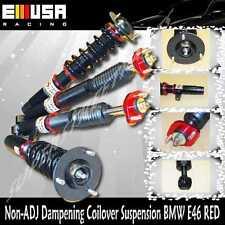 Coilover Suspension RED for BMW E46 01-05 320i 330i 330Ci/98-00 323iCoupe/Sedan
