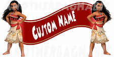 Moana Clubhouse Room Decor -  Wall Decal Removable Sticker CUSTOM NAME