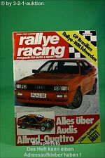 Rallye Racing 3/80 Audi Quattro Oettinger Golf 2000E
