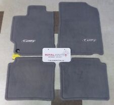 Toyota Camry 2012 - 2014 Ash Gray Carpet Floor Mats Genuine OEM OE