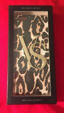 Victoria's Secret Logo VS Hard Case Cover For iPhone 6 Leopard Print Design NWT