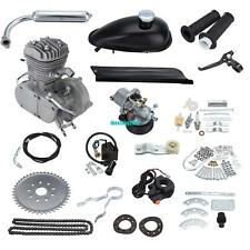 CDI Natural Air Cooling 50CC 2 Stroke Bike Engine Motor Kit With Exhaust Pipe