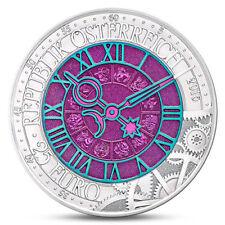 2016 Austria, 25 Euro, TIME! Niobium, including box and COA! Die Zeit, Clock 25€