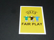 N°2 FAIR-PLAY PANINI FOOTBALL UEFA EURO 2008