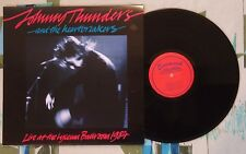 Johnny Thunders & The Heartbreakers LP Live At The Lyceum Ballroom 1984 VG++/M-