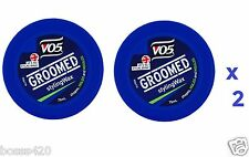 2 x VO5 Wax Male Grooming Hair Styling 75ml Each