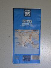 Carte IGN 1/25 000, Istres Golfe de Fos, 3044 E