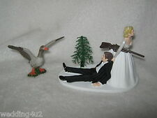 Wedding Reception Party ~Geese~ Hunter Hunting Fowl Cake Topper