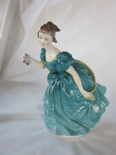 "Royal Doulton Rhapsody Bone China 6.75"" Lady Dancing Ball Gown Figurine HN 2267"