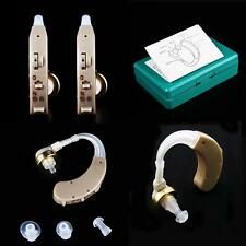A Pair of Digital Hearing Aid Kit Behind the Ear BTE #G Sound Voice Amplifier