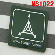 Outdoor Military Green TAD Gear Design Triple Aught Magic Stick Patches Tactical