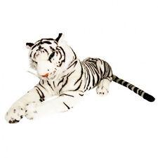 Weißer Plüschtiger riesig 100 cm sehr groß 1 Meter Tiger Kuscheltier Plüschtier