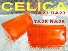 FRONT BUMPER MARK LIGHTS AMBER  FIT FOR TOYOTA CELICA TA23 RA23 TA28 RA28