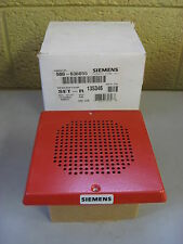 New Siemens SET-R Low Profile Fire Alarm Speaker Red 500-636055 Free Shipping
