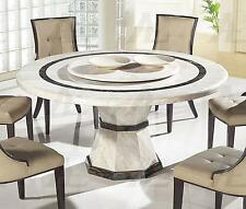 American Eagle  DT-H38 Beige Marble Top Round Dining Table