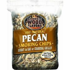 Barbeque Wood Flavors  Wood Chips- PECAN WOOD CHIPS  SMOKER