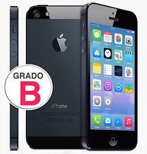APPLE IPHONE 5 16GB NERO ORIGINALE + ACCESSORI + GARANZIA +SPED GRATIS + GRADO B