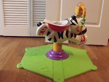 Fisher Price Go Baby Go Bounce and Spin Zebra new out of box 100% complete
