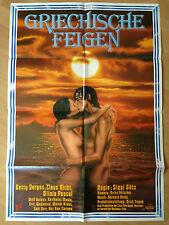 Filmposter * Kinoplakat * A1 * Griechische Feigen * EA 1977 * Sigi Götz