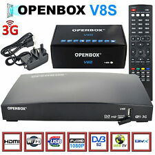 OPENBOX V8S HD Digital Satellite Receiver Box 1080p Full HDTV PVR Free to Air UK