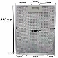 Metal Mesh filter For HOTPOINT Cooker Hood Extractor Vent Fan 320 x 260mm