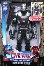 "MARVEL CIVAL WAR MARVEL'S WAR MACHINE TITAN HERO SERIES 12"" ACTION FIGURE NEW!"