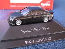 Herpa BMW Alpina B 7 E-65 TM Alpina Edition 2007 mit Goldstreifen  OV