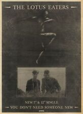 1/10/83PN18 ADVERT: THE LOTUS EATERS YOU DONT NEED SOMEONE NEW 15X11