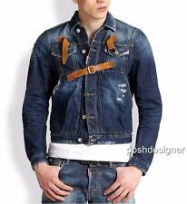 Dsquared2 Denim leather Jacket 48  50  Ne dsquared