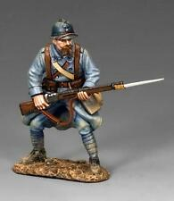 KING AND COUNTRY  WW1 FRENCH POILU REASY TO REPEL FW149 painted metal-boxed