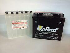 CBTX20L-BS BATTERIA MOTO UNIBAT 18 AH 270 A (EN) - COD. YUASA YTX20L-BS