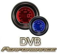 Prosport 52mm EVO Car Boost Gauge PSI LCD Digital Display Red Blue
