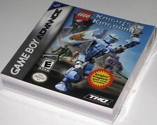 LEGO Knights' Kingdom (Game Boy Advance)..Brand NEW!! + game cards! RaRE!