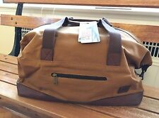 New! $300 Carhartt 125th Anniversary Duffel Bag. Made In USA Duffle. Leather