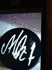 Alex Galchenyuk signed autographed puck Montreal Canadiens