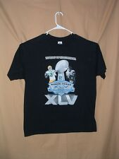 SUPER BOWL XLV, PITTSBURGH STEELERS, GREEN BAY PACKERS, SHIRT, XL