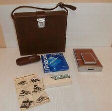 Polaroid SX-70 Land Camera with Case/Film & Instructions