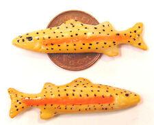 1:12 scala 2 pesce per una Casa Bambole Miniatura Cucina o Negozio Alimentari Accessori ZC